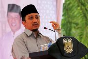Ustaz Yusuf Mansur Isi Ceramah Maulid di Balai Kota