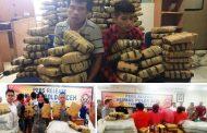 Jajaran Polda Aceh Gagalkan Pemngiriman Ganja