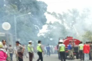 Mobil Satpol PP Dibakar, Pelaku Diamankan Polisi