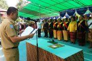 Wakil Bupati Lantik 12 Ketua BPD di Kecamatan Sahu