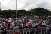 """AMPB Demo lagi Tuntut Proses """"Money Polilitik"""""""
