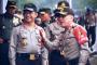 Kapolri dan Kapolda Metro Pantau TPS Jokowi