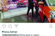 Sienta Goes to Japan