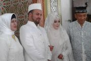 Pria Palestina Nikahi Gadis Bireuen, H.Ruslan: Sebagai Saksi Nikah