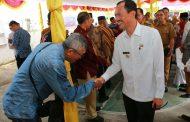 Walikota Palembang Himbau Warga Sungai Buah Jaga Kebersihan Sungai
