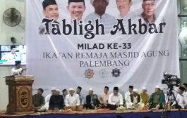 Walikota Palembang Ajak Remas Ramaikan Subuh Berjamaah