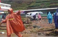 Pegunungan Dieng di Wonosobo di Terjang Banjir