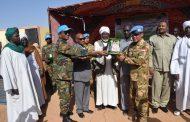 Pasukan Garuda Berikan Sumbangan Ke Sekolah dan Masjid di Sudan