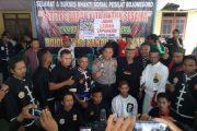 Pererat Silaturahmi, Komunitas  Pencak Silat Bojonegoro Adakan Baksos