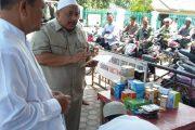 H.Mukhtar Terharu Dengan Hasil Budidaya Mahasiswa Unimus Bireuen