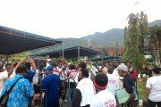 Ribuan Pendukung Hadiri Debat Kandidat Cabup dan Wabup Jayapura