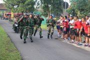 Uji Ketangkasan Prajurit Kostrad Lewat Lomba Lintas Medan Antar Kompi
