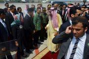 Danlanal Denpasar Dampingi Menlu, Menag dan Gubernur Bali Lepas Raja Salman