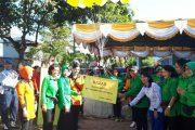 Jalasenastri Cabang 10 Meriahkan Acara Bazar Dan Olah Raga Bersama HUT Dharma Pertiwi Ke-53