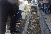 Polda NTT Musnahkan 14 Ribu Liter Miras