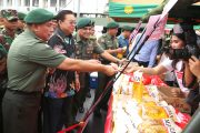 Bazar Murah Meriahkan Hut Ke 56 Kostrad