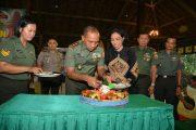 Pangdam V/Brawijaya Lakukan Peletakan Batu Pertama Dalam Renovasi Pendopo Agung Towulan