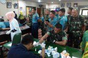 Peringati HUT Ke 331 Kota Pasuruan, Prajurit Kostrad Ikuti Bhakti Sosial Donor Darah