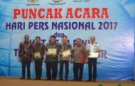 Puncak HPN, PWI Jatim Berikan Reward Kepada Alumni Taplai Lemhannas