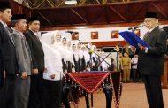 Amanat UUPA,Kepala SMA-SMK Se Aceh di Kukuhkan