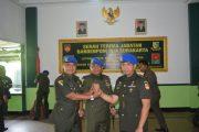 Komandan Pomdam IV/Diponegoro Pimpin Sertijab Dandenpom IV/4 Ska di Solo