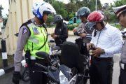 Polres Sergai Amankan 13 Kendaraan Polisi