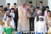 Ulama Situbondo Ikut Sambut Raja Salman di Istana Negara