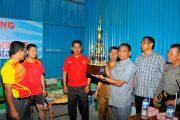 Wabup Darma Wijaya Buka Turnamen MBC Cup IV Dolok Masihul