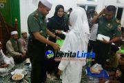 Peringati HUT Panglima TNI, Kodim 0828 Sampang Santuni Anak Yatim