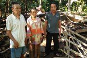 Rumah GAKIN Desa Patoman Ambruk DiTerjang Angin