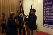 Sah, Hasan Lessy Resmi Nakodai DPW IPJI Papua Barat