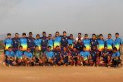 Kesebelasan Konga FC Menang Dalam Pertandingan Persahabatan