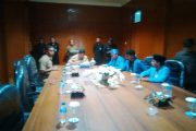 Mahasiswa PMII Hering Dengan Bupati Diruang Rapat Kantor Bupati Kep. Sula