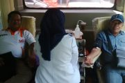 Hut Pokja Wartwan Belitung, Wartawan Lakukan Donor Darah  