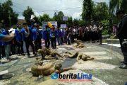 Sumenep Darurat Agraria, Ratusan Massa Gelar Aksi Solidaitas