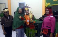 Persit Kodim 0826/Pamekasan raih juara I Senam Perwosi