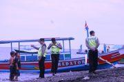 Libur Nyepi, Pantai GWD Dijaga Polisi