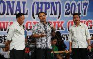 Wagub Jatim Hadiri Puncak HPN 2017 Komunitas Wartawan Gresik