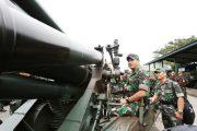 Penembakan Alutsista Meriam 155 MM Dijadwalkan 8 Maret