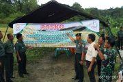 Bersama Subdivre Bulog Aceh Barat Dirikan Posko Penyerapan