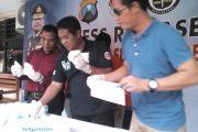 Polisi Amankan Tiga Tersangka,Temukan Sabu- Sabu Dan 20 Ribu Pil Dobel L