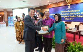 Palembang Meraih Penghargaan Bidang Pelayanan Publik