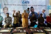 Peringati Hari Air sedunia, Wawako Palembang Bersama Direksi ATS Interaksi Bersama Ratusan Anak TK