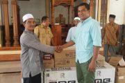 DPRK Bireuen Serahkan Bantuan Ke Mesjid Ridha
