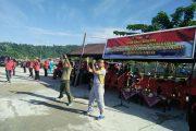 TNI dan Polri di Fakfak Olahraga Bersama