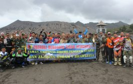Bromo Trail Adventure, Bersama Pangdam V Brawijaya