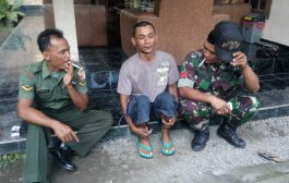 Stres Dan Mengamuk Berujung Ditangkap Anggota TNI
