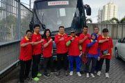 Peserta Hash Diberangkatkan dari Gedung Srijaya Menuju Tretes