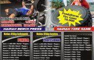 PERINDO Kediri Menyambut Hari Kartini Dengan Kejuaraan Bench Press Dan Tire Game