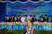Komandan Lantamal V Hadiri Wisuda 471 Mahasiswa Universitas Hang Tuah